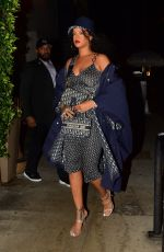 Rihanna Out for dinner at Giorgio Baldi in Santa Monica