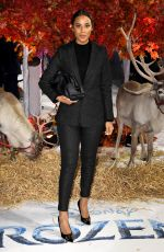 Rochelle Humes At The European Premiere of Frozen 2 in London