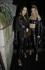 Rosie Williams and Rachel Ward Arrives at the Kiwi fashion launch party at Manchester Halls