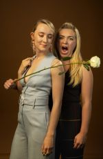 Saoirse Ronan & Florence Pugh - LA Times Photoshoot by Jay L. Clendenin - October 2019