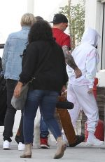 Selena Gomez Arrives at a studio staying low key in Los Angeles