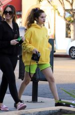 Selena Gomez Shops with friends at Gelson