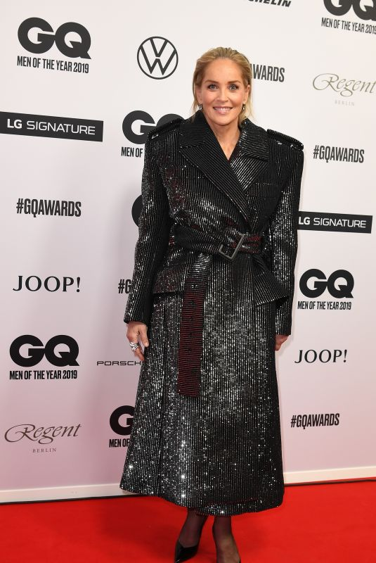 Sharon Stone At 2019 GQ Men of the Year Awards in Berlin