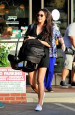 Shay Mitchell Shopping for baby clothes at LA