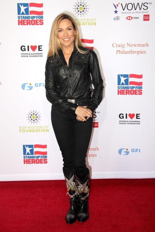 Sheryl Crow At 13th Annual Stand Up For Heroes To Benifit The Bob Woodruff Foundation in NYC