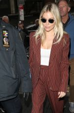 Sienna Miller Arriving The Today Show in NYC