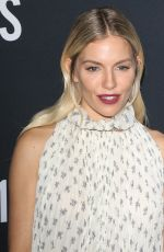 "Sienna Miller At ""21 Bridges"" New York Screening"