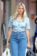 Sienna Miller Shopping in NYC