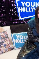Sofia Carson Stopping by the Young Hollywood Studio in LA