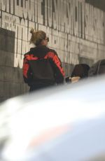 Sofia Richie Arrives for a training session at Dogpound gym in West Hollywood