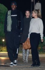 Sofia Richie Has dinner with Vas J Morgan at Nobu in Malibu
