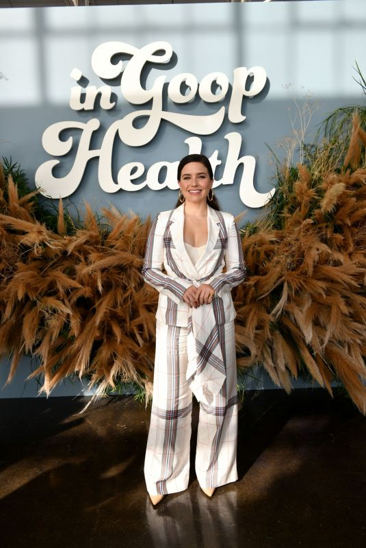 Sophia Bush In Goop Health Summit in San Francisco