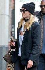 Sophie Turner Out in New York
