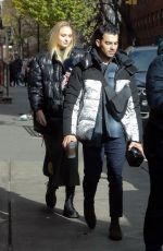 Sophie Turner Out in NY