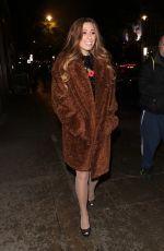 Stacey Solomon Makes low key arrival at It takes Two studio in London