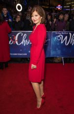 Stephanie Beacham Attends the White Christmas Musical press night at the Dominion Theatre, London