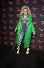 Tallia Storm At Fashion For Relief pop-up store at Westfield London