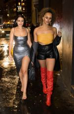 Talulah Eve and Amel Rachedi on a girls night out partying in London
