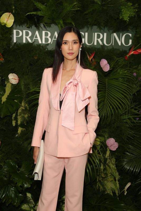 Tao Okamoto At Prabal Gurung Dinner, Inside, Sunset Tower Hotel, Los Angeles