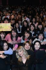 Taylor Swift At a Fan Event in Tokyo