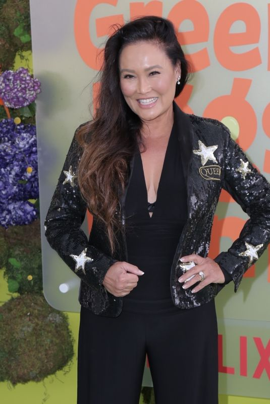 Tia Carrere At Premiere Of Netflix