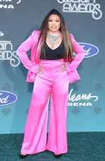 Tisha Campbell At 2019 Soul Train Awards at Orleans Arena in Las Vegas