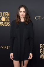 Tuppence Middleton At HFPA And THR Golden Globe ambassador party in West Hollywood