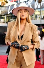 Tyra Banks At 2019 American Music Awards in Los Angeles