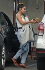 Vanessa Hudgens Out for lunch in Los Angeles