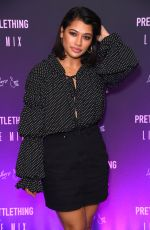 Vanessa White At PrettyLittleThing Little Mix collection launch party, London