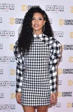 Vick Hope At Comedy Central Friends Festive Exhibition launch in London