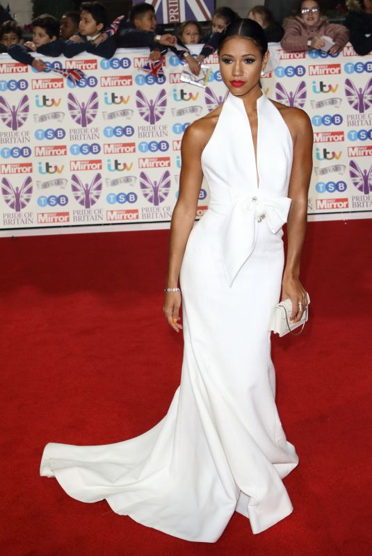 Vick Hope On the red carpet at The Daily Mirror Pride of Britain Awards, in partnership with TSB, London