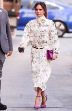Victoria Beckham Arrives for an appearance on
