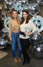 Victoria Justice & Madison Reed Outside the Love Leo Rescue Fundraiser in Los Angeles
