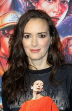 Winona Ryder At Photocall for Netflix