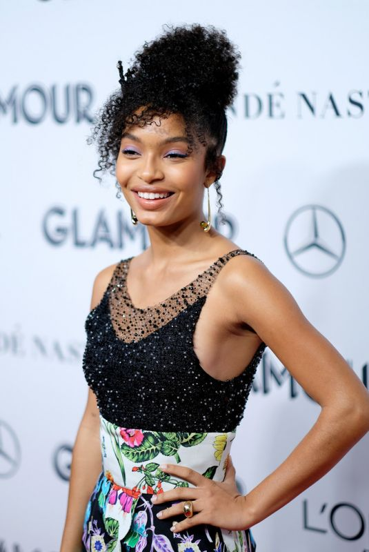 Yara Shahidi At 2019 Glamour Women Of The Year Awards in NYC