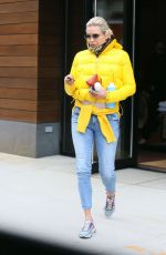 Yolanda Hadid Showcases her street style as she leaves daughter Gigi