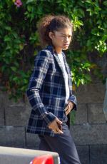 Zendaya Out for a business meeting in Burbank