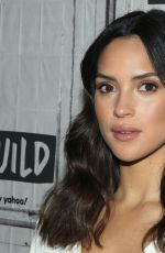 Adria Arjona At AOL Build Series for 6 Underground in NY