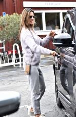 Alessandra Ambrosio Buys flowers ahead of Christmas in Brentwood