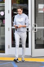 Alessandra Ambrosio Makes a quick stop at a bank in Brentwood