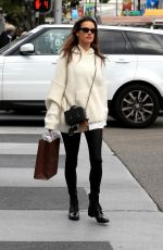 Alessandra Ambrosio Seen out for some last-minute Christmas shopping in Beverly Hills