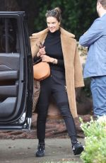 Alessandra Ambrosio Walks to her SUV in Brentwood