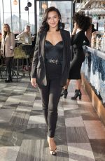 Alexandra Cane Attends Ashley James host of private brunch to celebrate her collaboration with Little Mistress fashion label, London