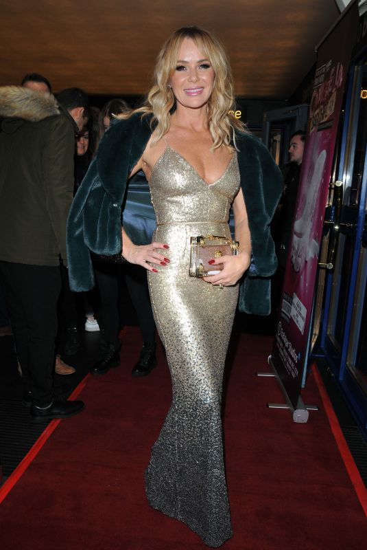 Amanda Holden At Cinderella Play at Trafalgar Studios, London