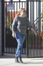 Amy Adams Visiting a friend in Beverly Hills