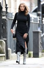 Amy Childs Along with life-coach Anna Williamson and matchmaker Paul C Brunson arriving for filming in Central London