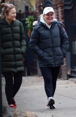 Amy Poehler Steps out with her friends in New York City - December 29, 2019