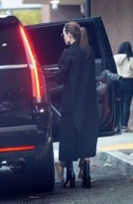 Angelina Jolie Goes last-minute Christmas shopping in Los Angeles