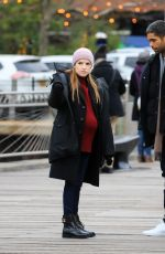 """Anna Kendrick On the set of """"Love Life"""" in NYC"""